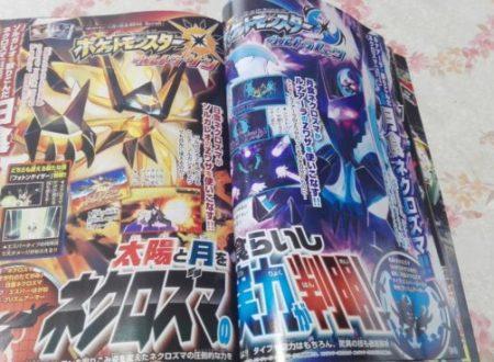 Pokémon Ultrasole e Ultraluna: svelata la nuova mossa Z di Necrozma dalla rivista giapponese CoroCoro