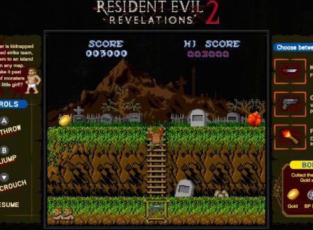 Resident Evil Revelations 1 e 2: svelati due minigiochi esclusivi per le versioni Nintendo Switch