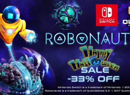 Robonauts: il titolo in sconto del 33% sull'eShop europeo di Nintendo Switch