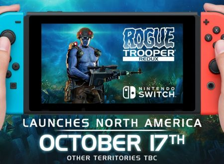 Rogue Trooper Redux: pubblicata un'ora di video gameplay del titolo su Nintendo Switch