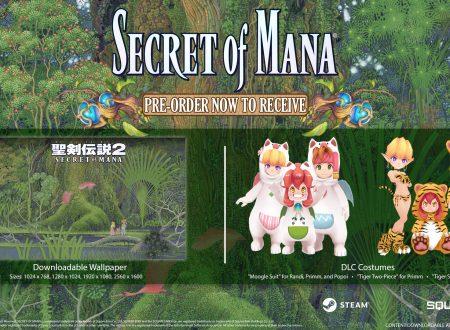 Secret of Mana: Square Enix svela il perchè il titolo non è arrivato su Nintendo Switch