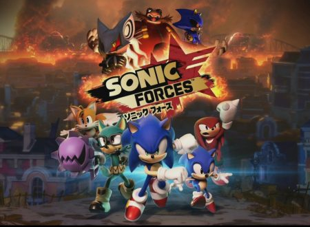 Sonic Forces: la demo del titolo ora disponibile sui Nintendo Switch giapponesi
