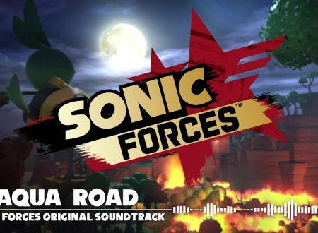 Sonic Forces: pubblicato il video della OST di Aqua Road, uno degli scenari del titolo