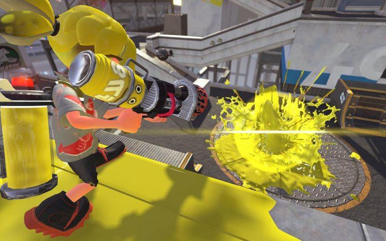 Splatoon 2: Il Blaster a distanza in arrivo domani mattina all'interno del gioco