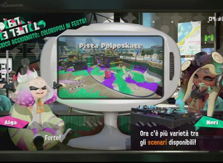 Splatoon 2: primo sguardo in video al Rullo dinamo dorato e la Pista Polposkate, ora disponibili