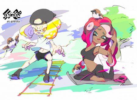 Splatoon 2: pubblicato l'artwork ufficiale sull'ultimo Splatfest giapponese