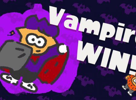 Splatoon 2: svelati i risultati dello Splatfest americano, Vampiri vs. Lupi Mannari