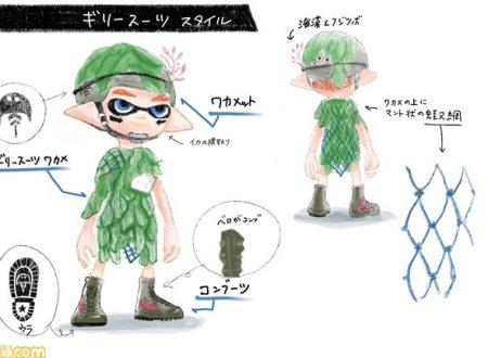 Splatoon 2: svelati i vincitori del Squid Fashion Contest realizzato da Famitsu