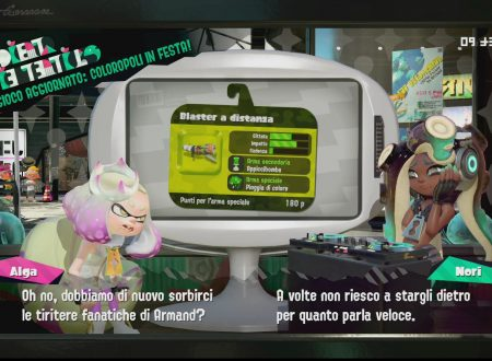 Splatoon 2: uno sguardo in video al Blaster a distanza, nuova arma ora disponibile