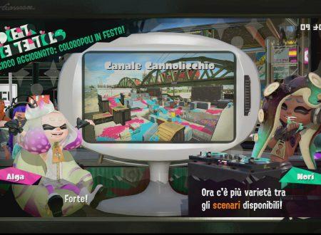 Splatoon 2: uno sguardo in video allo stage Canale Cannolicchio, ora disponibile