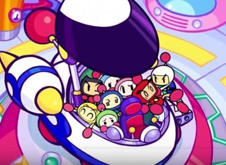 Super Bomberman R: primi video dell'update in arrivo a novembre su Nintendo Switch
