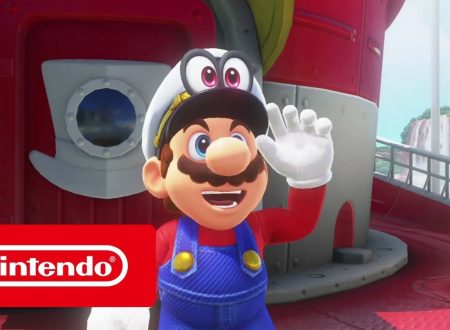 Super Mario Odyssey: pubblicato in video commercial italiano, L'odissea di Mario