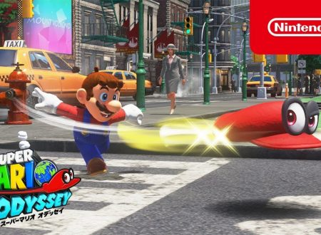 Super Mario Odyssey: pubblicato un un nuovo video introduttivo giapponese