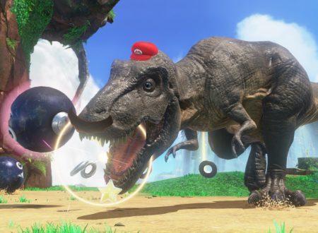 Super Mario Odyssey: una nuova occhiata in video gameplay al Regno delle Cascate