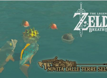 The Legend of Zelda: Breath of the Wild, nuovi oggetti per la pesca dal Canale Notizie di Nintendo Switch