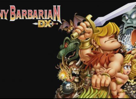 Tiny Barbarian DX: pubblicato il trailer di lancio del titolo su Nintendo Switch
