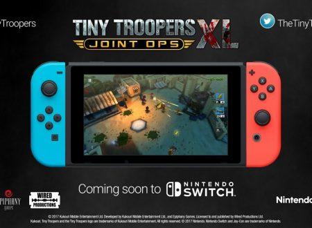 Tiny Troopers Joint Ops XL: il titolo annunciato per l'arrivo su Nintendo Switch