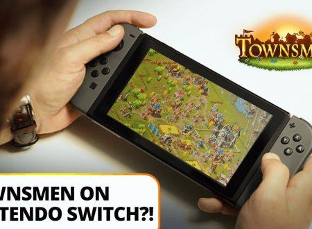 Townsmen: il titolo di HandyGames in arrivo nel 2018 su Nintendo Switch