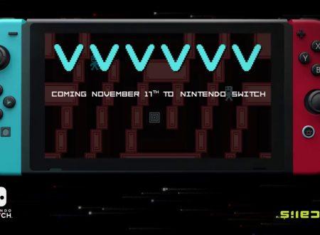 VVVVVV: il titolo annunciato per l'arrivo il 17 novembre sui Nintendo Switch europei
