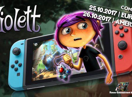 Violett: il titolo è in arrivo il 25 ottobre sui Nintendo Switch europei