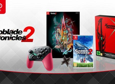 Xenoblade Chronicles 2: Il titolo, la Collectors Edition e il Nintendo Switch Pro Controller in preorder sul Nintendo UK Store