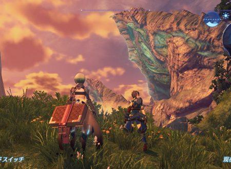 Xenoblade Chronicles 2: due nuovi screenshots mostrano il ciclo giorno-notte nel titolo
