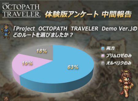 project OCTOPATH TRAVELER: mostrati i risultati dei feedback dell'utenza sul titolo
