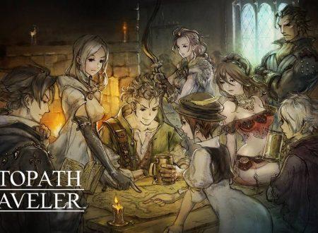 project OCTOPATH TRAVELER: pubblicato un nuovo trailer del titolo per Nintendo Switch