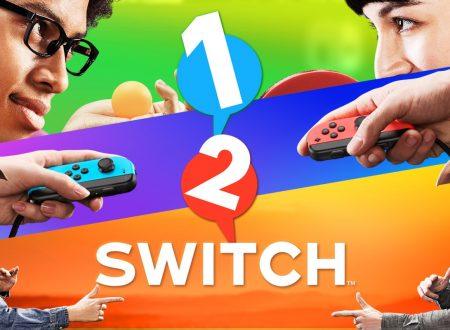 1-2 Switch: il titolo aggiornato alla versione 1.1, aggiunta la funzionalità di cattura dei video