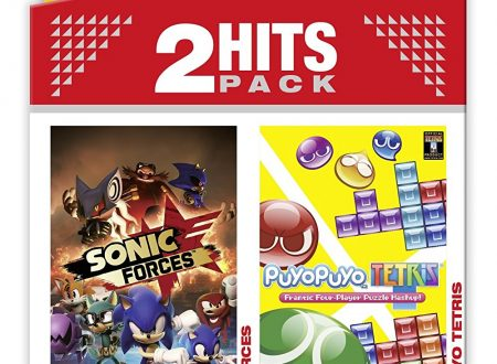 2 Hits Pack: Sonic Forces / Puyo Puyo Tetris in arrivo nel 2018 su Nintendo Switch