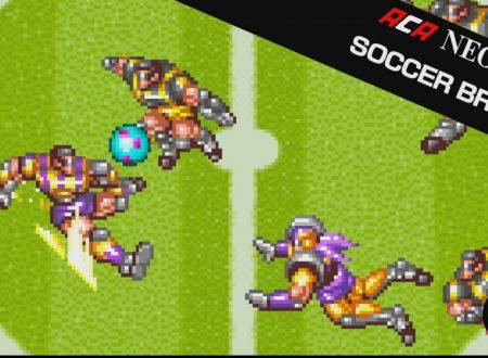 ACA NEOGEO Soccer Brawl: il titolo in arrivo il 22 novembre sui Nintendo Switch europei
