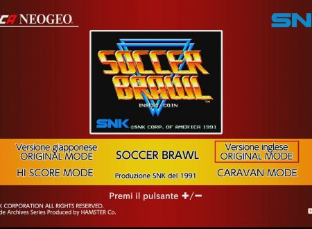 ACA NEOGEO Soccer Brawl: uno sguardo in video al titolo dai Nintendo Switch europei