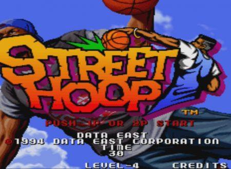 ACA NEOGEO Street Hoop: il titolo in arrivo il 9 novembre sui Nintendo Switch europei