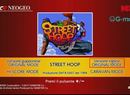ACA NEOGEO Street Hoop: uno sguardo in video al titolo dai Nintendo Switch europei