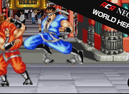 ACA NEOGEO World Heroes: il titolo in arrivo il 30 novembre sui Nintendo Switch europei