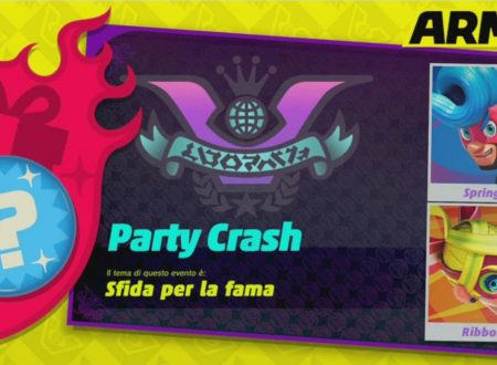 ARMS: il primo Party Crash, sfida per la fama è ora disponibile nel titolo per Nintendo Switch