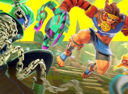 ARMS: il titolo aggiornato alla versione 4.0.1 sui Nintendo Switch europei