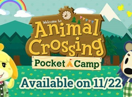 Animal Crossing: Pocket Camp, il titolo in arrivo il 22 novembre sullo store europeo e americano