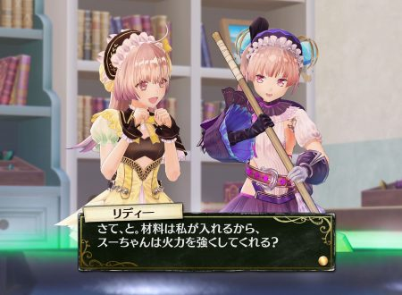 Atelier Lydie & Suelle: Alchemists of the Mysterious Painting, il titolo in arrivo il 30 marzo sui Nintendo Switch europei