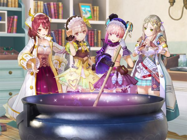 Atelier Lydie & Suelle: Alchemists of the Mysterious