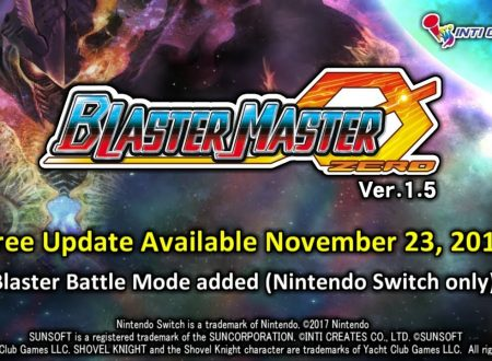 Blaster Master Zero: svelato l'arrivo della versione 1.5, in arrivo questa settimana