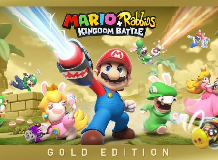 Mario + Rabbids: Kingdom Battle Gold Edition è ora disponibile sui Nintendo Switch europei