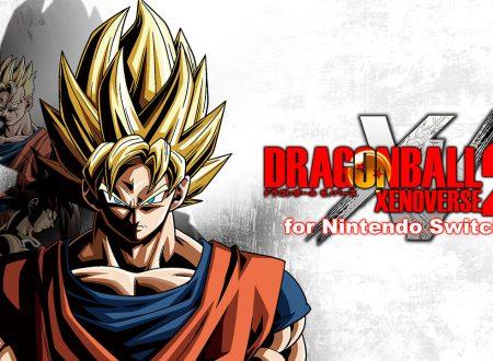 Dragon Ball Xenoverse 2: il titolo ha piazzato 400.000 unità nella versione per Nintendo Switch