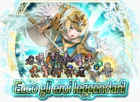 Fire Emblem Heroes: disponibile l'Evento di evocazione Eroi leggendari: Fjorm, la dama del gelo