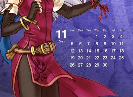 Fire Emblem Heroes: ora disponibili gli sfondi calendario di Takumi e Micaiah del mese di novembre