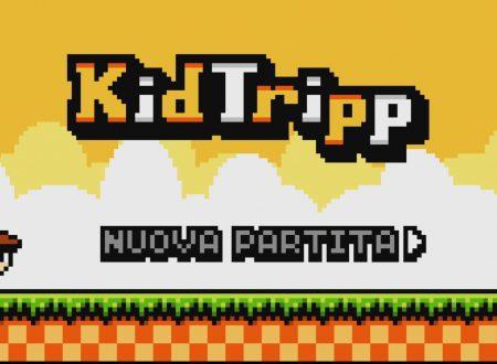 Kid Tripp: uno sguardo in video al titolo dai Nintendo Switch europei