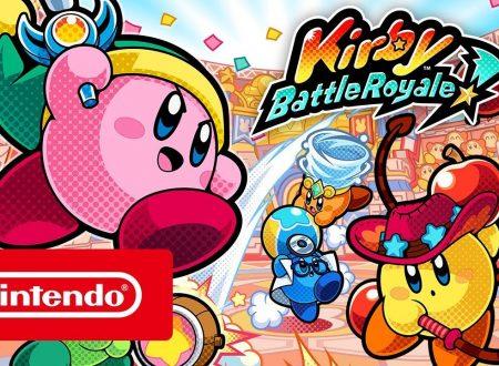 Kirby: Battle Royale, pubblicato il trailer di lancio italiano del titolo