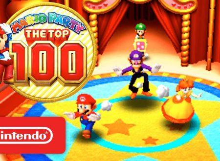 Mario Party: The Top 100, pubblicato un nuovo trailer ufficiale americano sul titolo