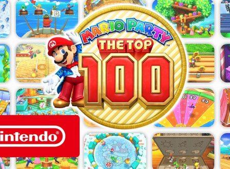Mario Party: The Top 100, pubblicato un trailer panoramica sul titolo per 3DS
