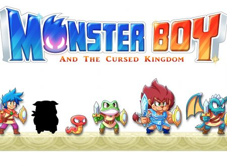 Monster Boy and the Cursed Kingdom, mostrato il nuovo sprite di Dragon